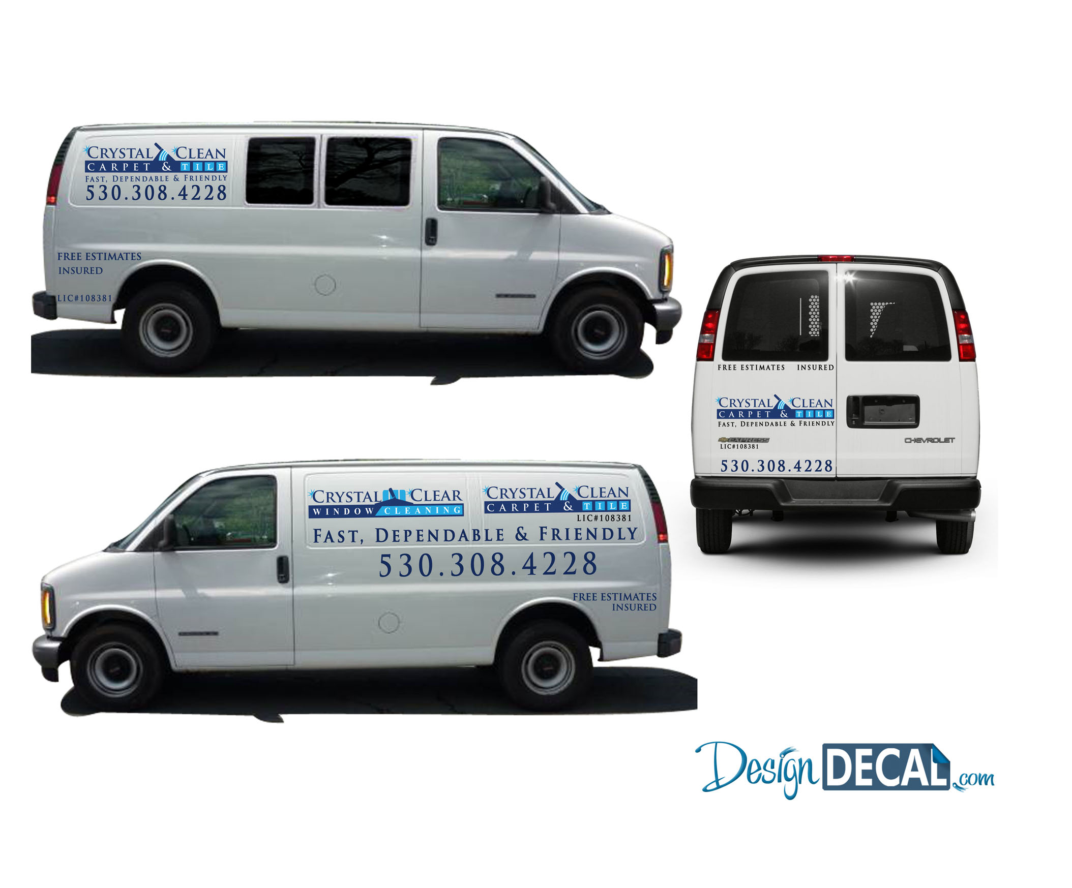 Advertise while you drive! Designed to what the customer loved! Another happy Client!