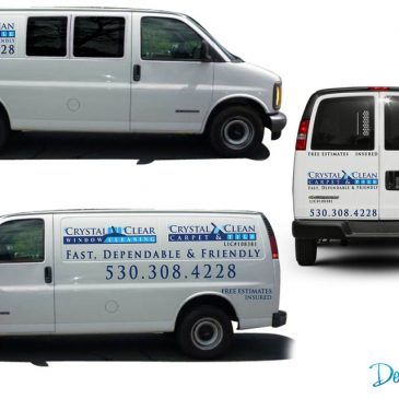 Van Decals! Another Happy Client!